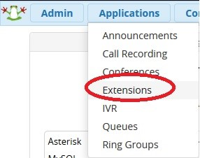 asterisk extensions